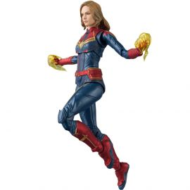 Captain Marvel Action Figure - Captain Marvel - S.H.Figuarts - Bandai