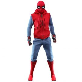 Spider-Man (Homemade Suit) - 1/6th Scale Collectible Figure - Spider-Man: Far From Home - Hot Toys