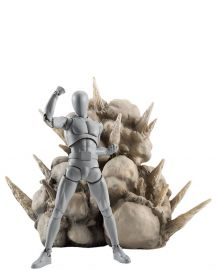 Display - Tamashii Effect Explosion Gray - Bandai