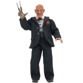 "Tuxedo Freddy - Nightmare on Elm Street Part 3 – 8"" Clothed Action Figure – NECA"