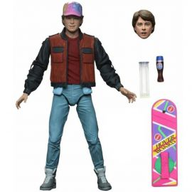"""Ultimate Marty McFly - 7"""" Scale Action Figure - Back to the Future Part 2 - NECA"""
