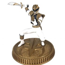 White Ranger - 1/8 Scale Statue - Mighty Morphin Power Rangers - Pop Culture Shock
