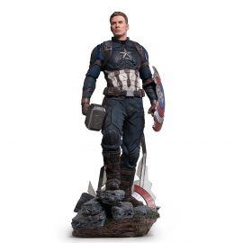 Captain America 1/4 Legacy Replica (VERSÃO DELUXE) - Avengers: Endgame - Iron Studios